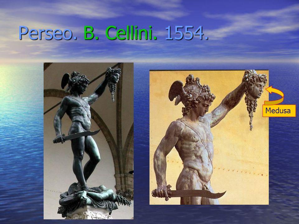 Perseo. B. Cellini. 1554. Medusa