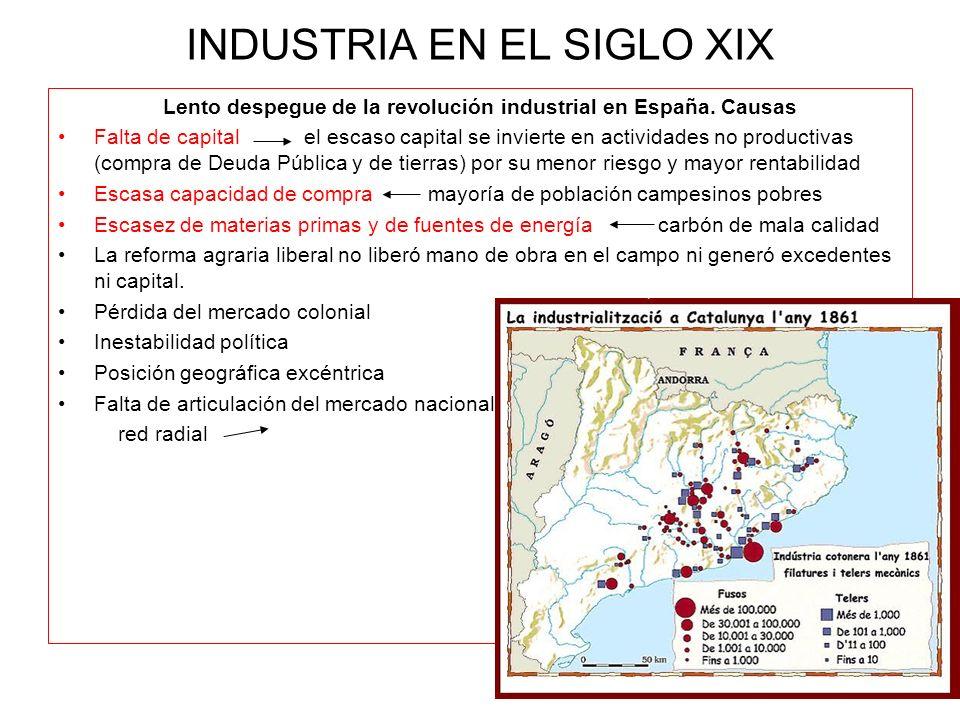 INDUSTRIA EN EL SIGLO XIX