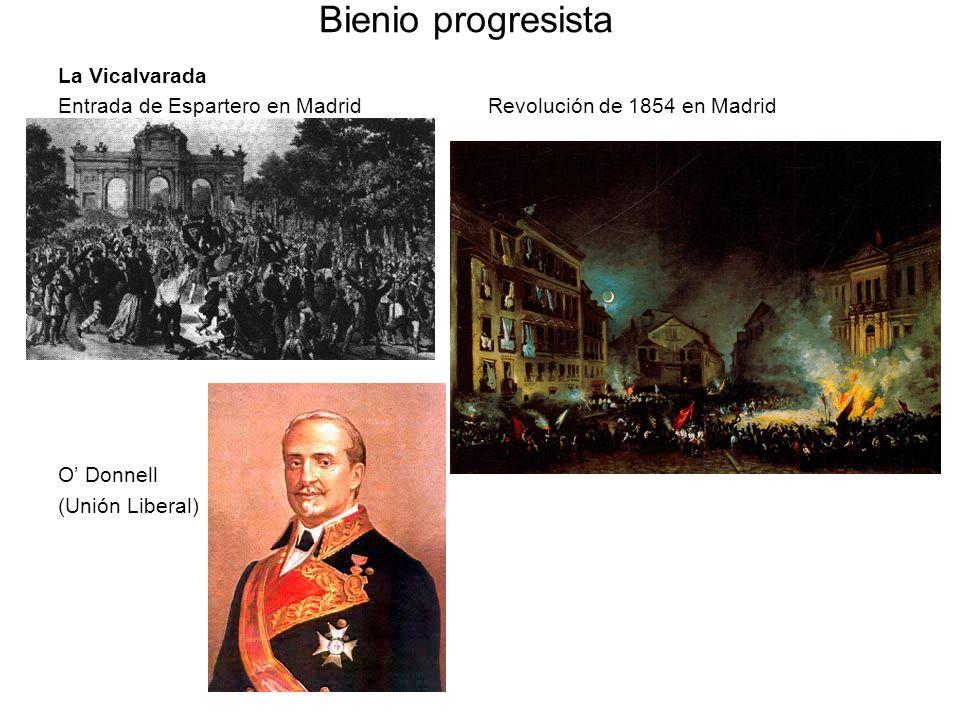 Bienio progresista La Vicalvarada