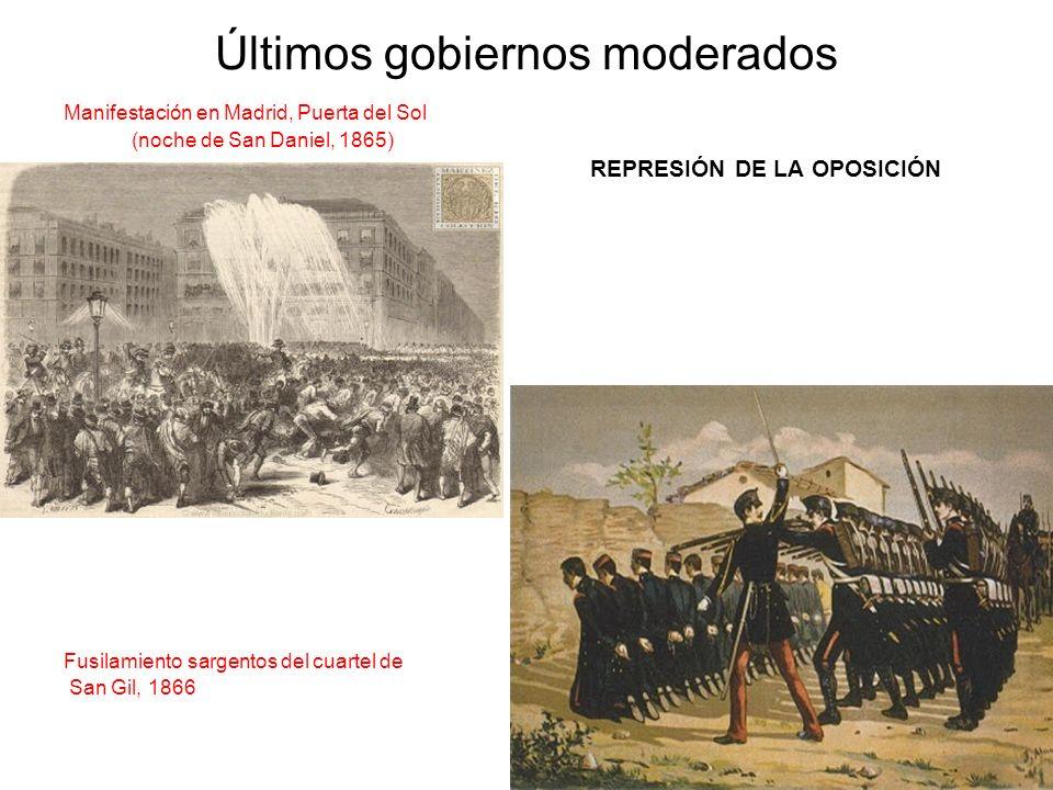 Últimos gobiernos moderados
