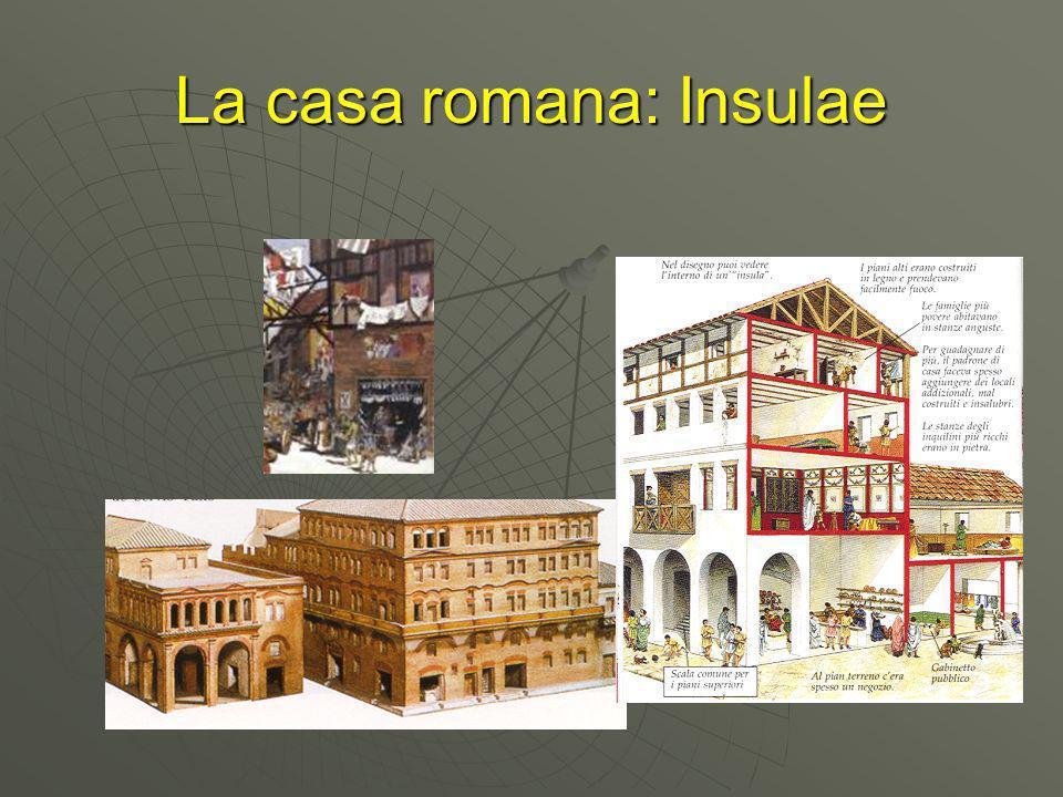 La casa romana: Insulae