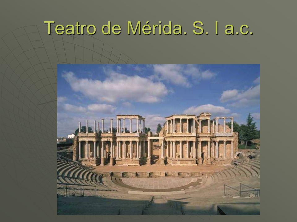 Teatro de Mérida. S. I a.c.