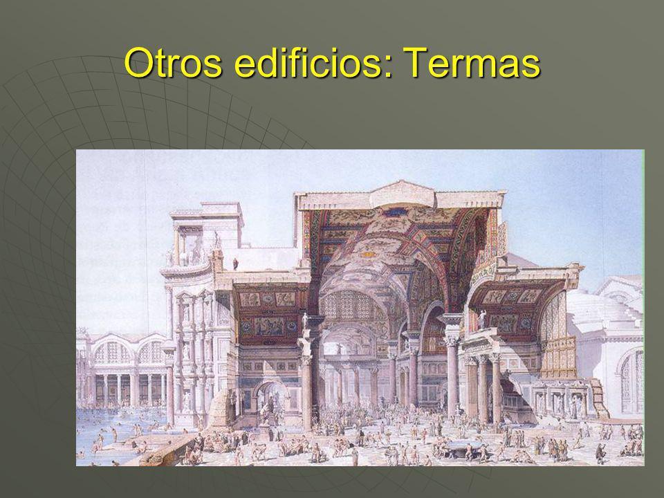 Otros edificios: Termas