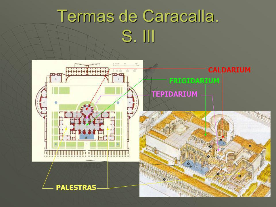 Termas de Caracalla. S. III
