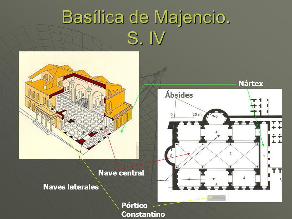 Basílica de Majencio. S. IV