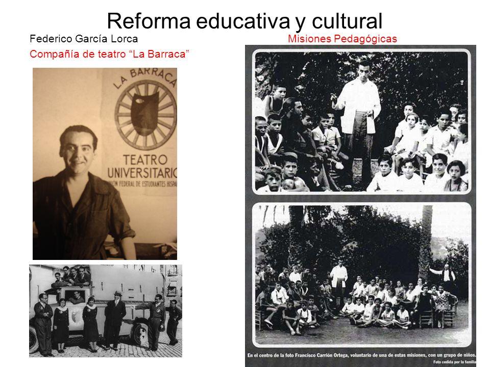 Reforma educativa y cultural