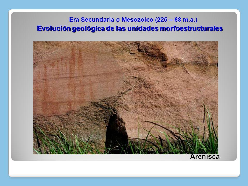 Evolución geológica de las unidades morfoestructurales