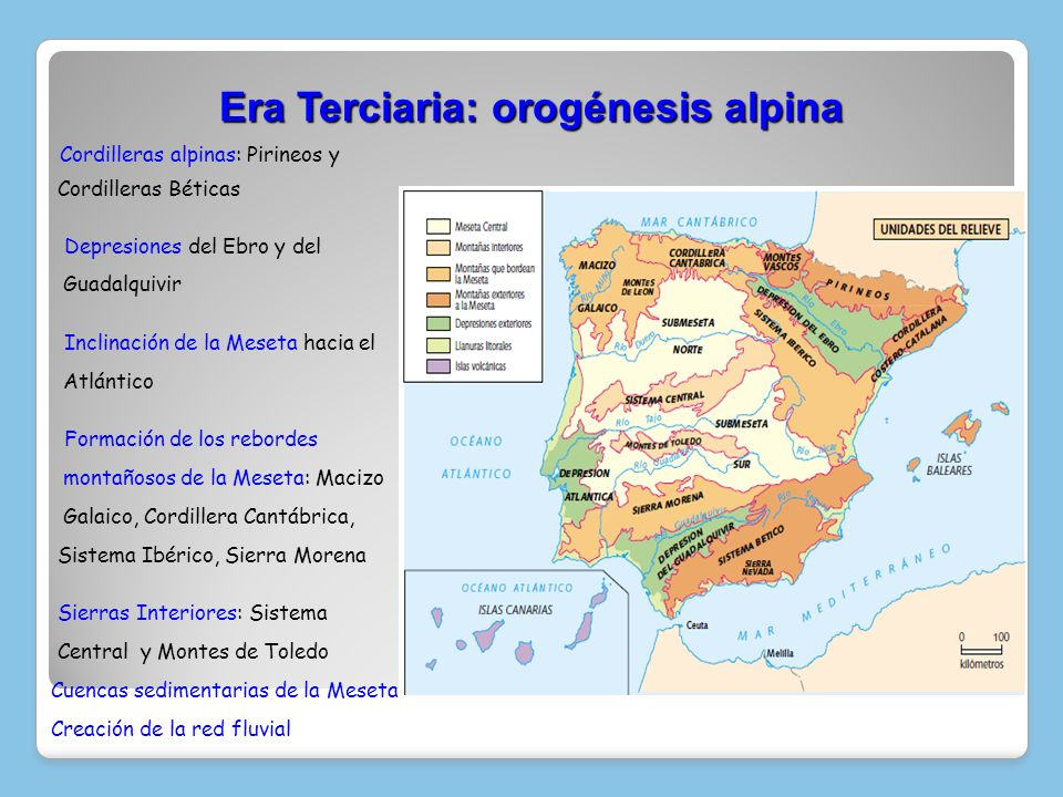 Era Terciaria: orogénesis alpina