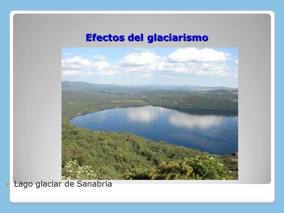 Efectos del glaciarismo