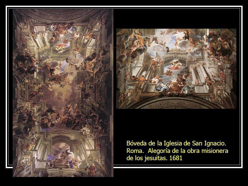 Bóveda de la Iglesia de San Ignacio. Roma