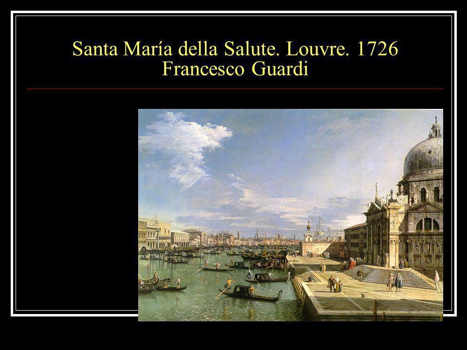 Santa María della Salute. Louvre. 1726 Francesco Guardi