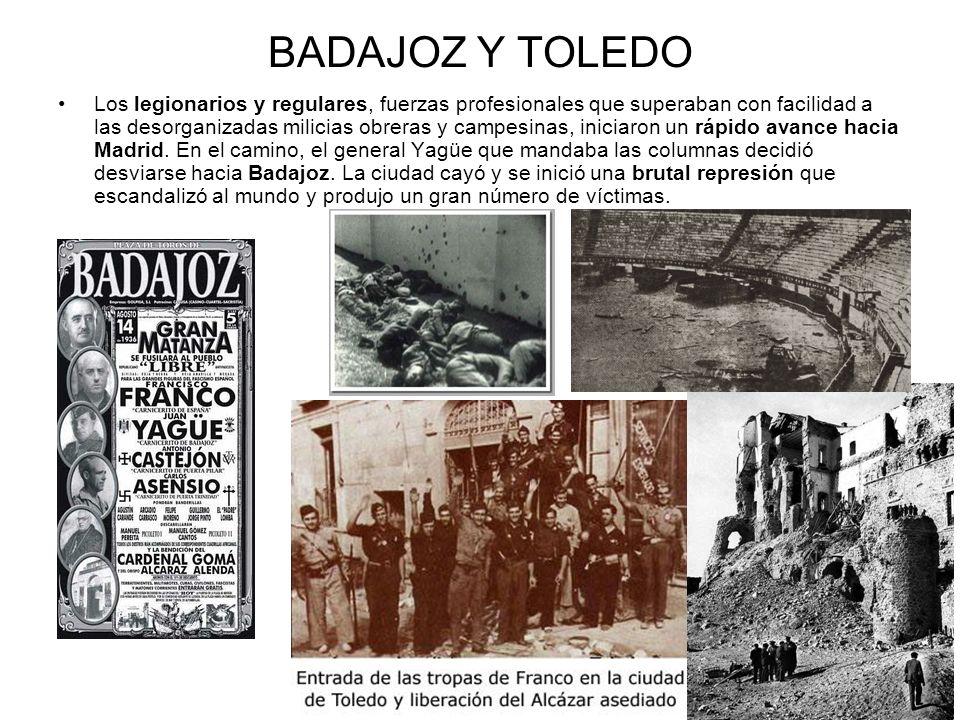 BADAJOZ Y TOLEDO