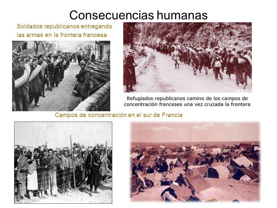 Consecuencias humanas