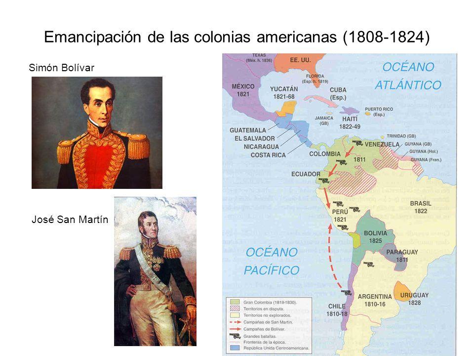 Emancipación de las colonias americanas (1808-1824)