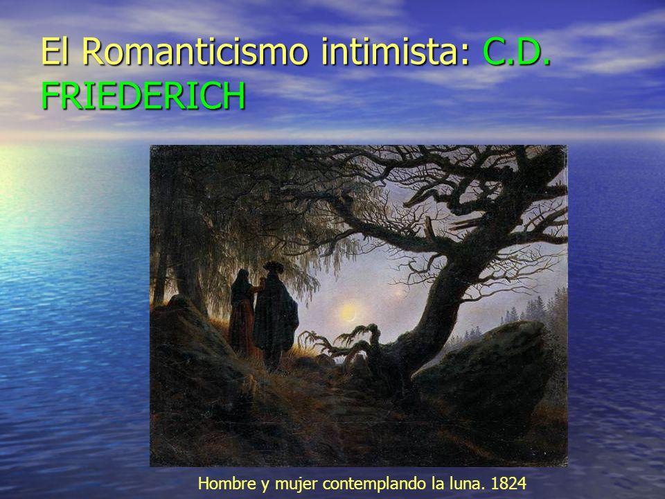 El Romanticismo intimista: C.D. FRIEDERICH