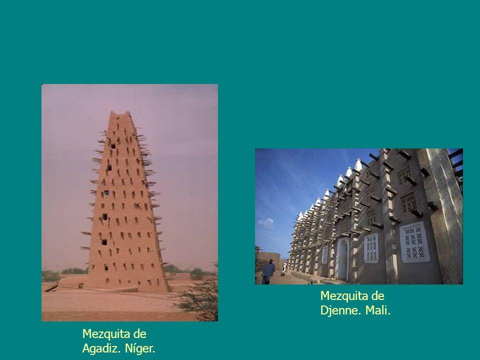 Mezquita de Djenne. Mali.