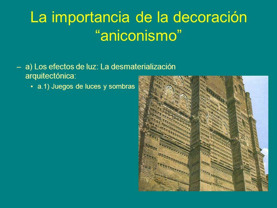 La importancia de la decoración aniconismo