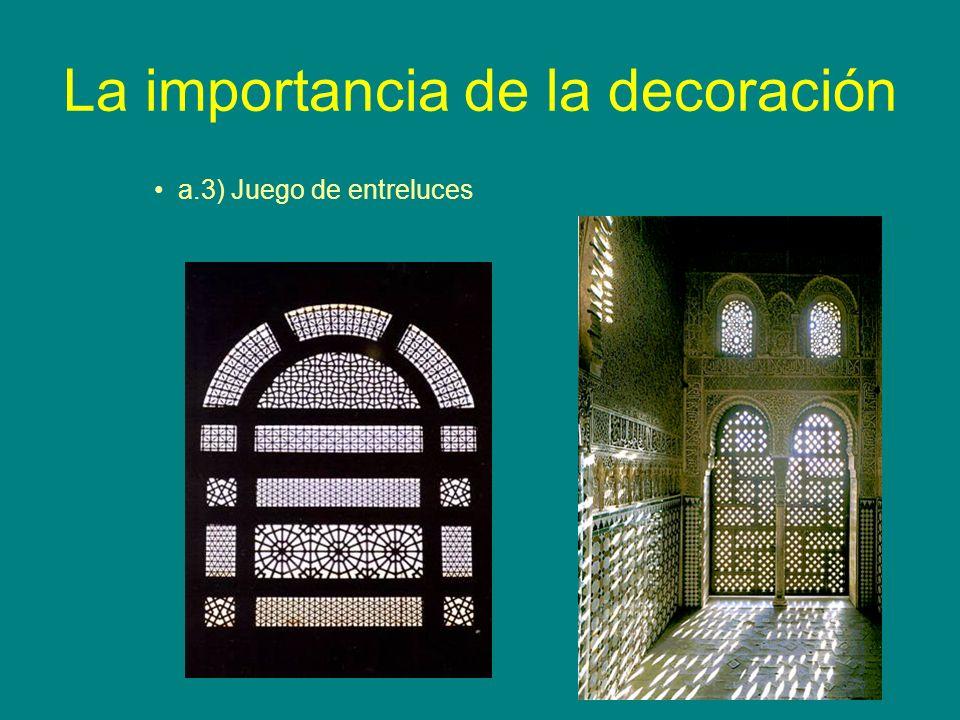 La importancia de la decoración