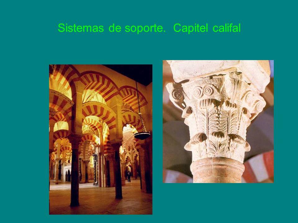 Sistemas de soporte. Capitel califal