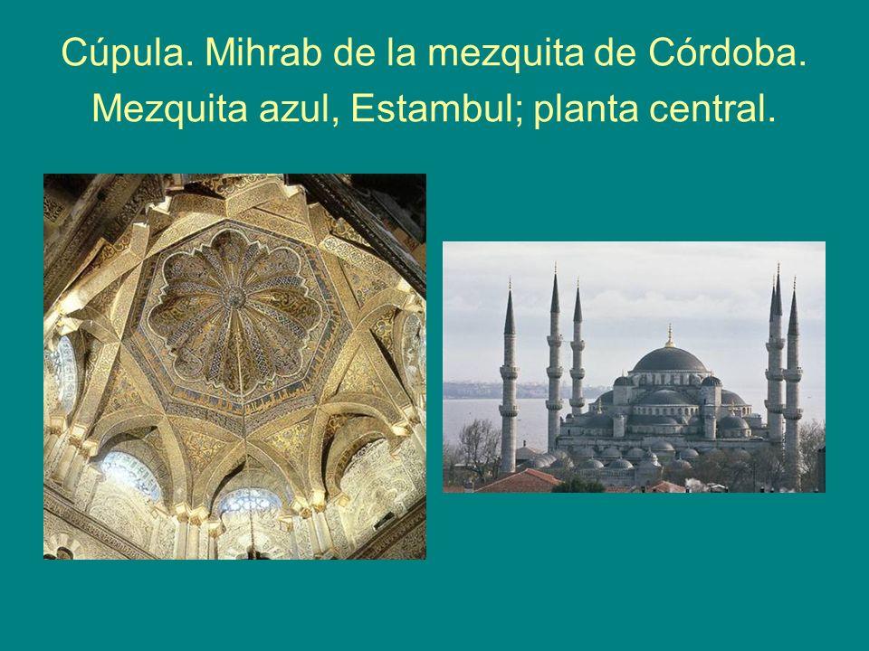 Cúpula. Mihrab de la mezquita de Córdoba