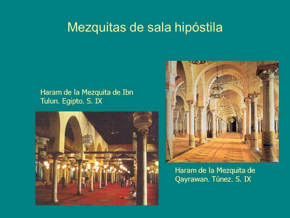 Mezquitas de sala hipóstila