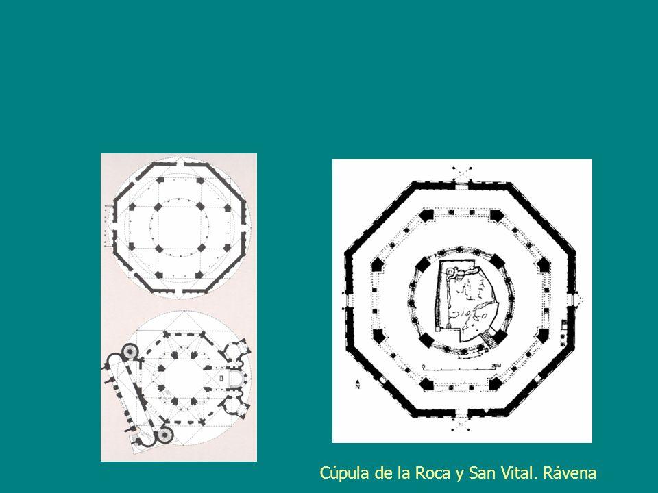 Cúpula de la Roca y San Vital. Rávena