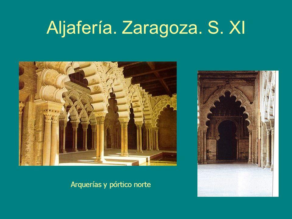 Aljafería. Zaragoza. S. XI
