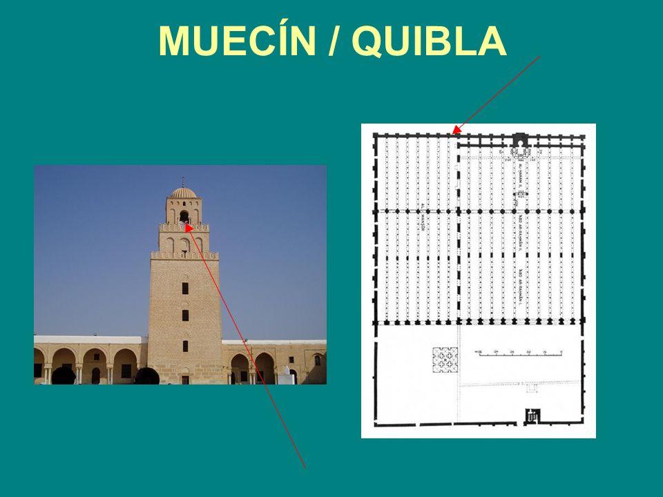 MUECÍN / QUIBLA