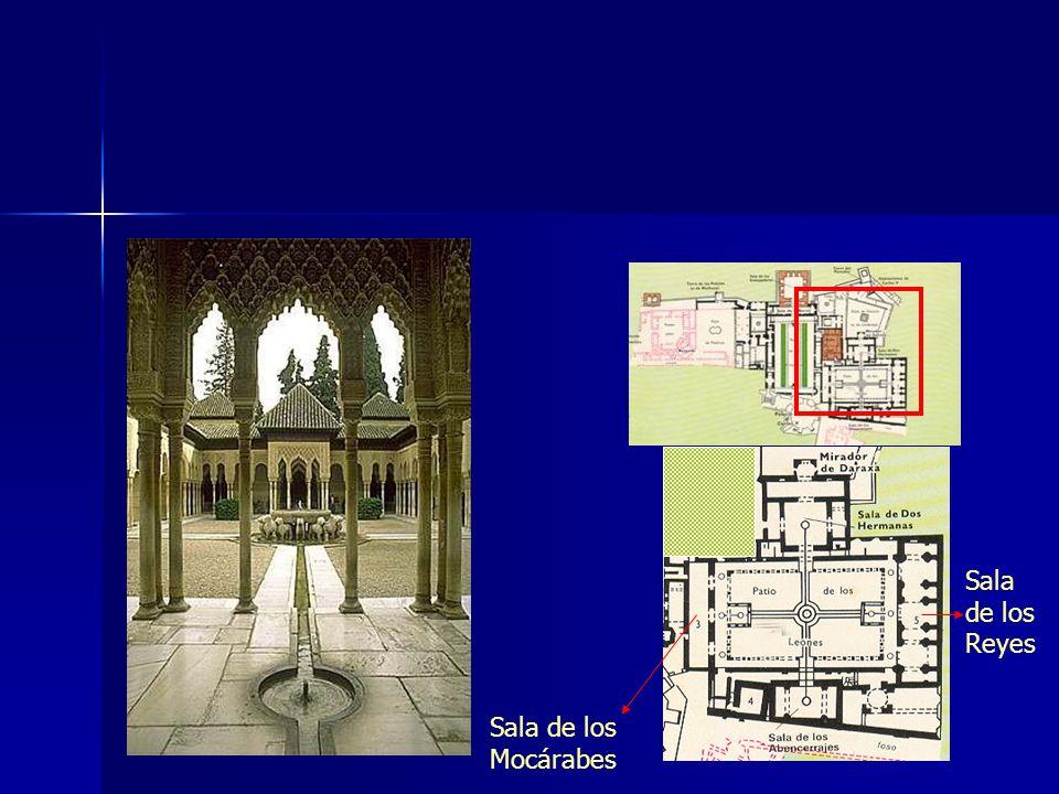 Sala de los Reyes Sala de los Mocárabes