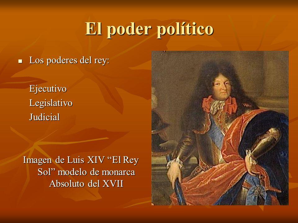 Imagen de Luis XIV El Rey Sol modelo de monarca Absoluto del XVII
