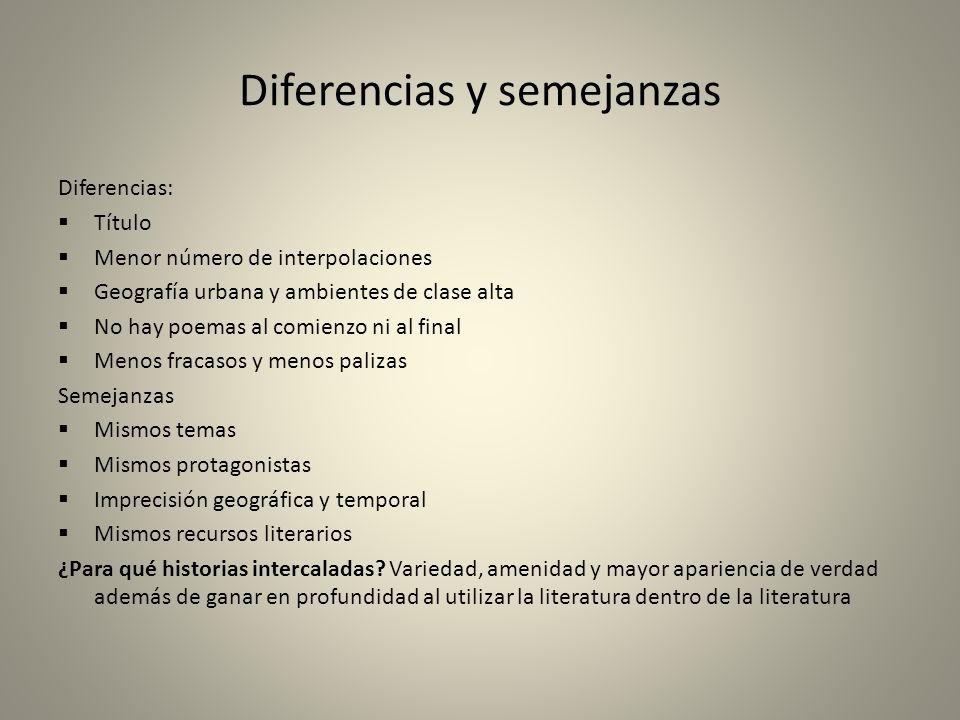 Diferencias y semejanzas