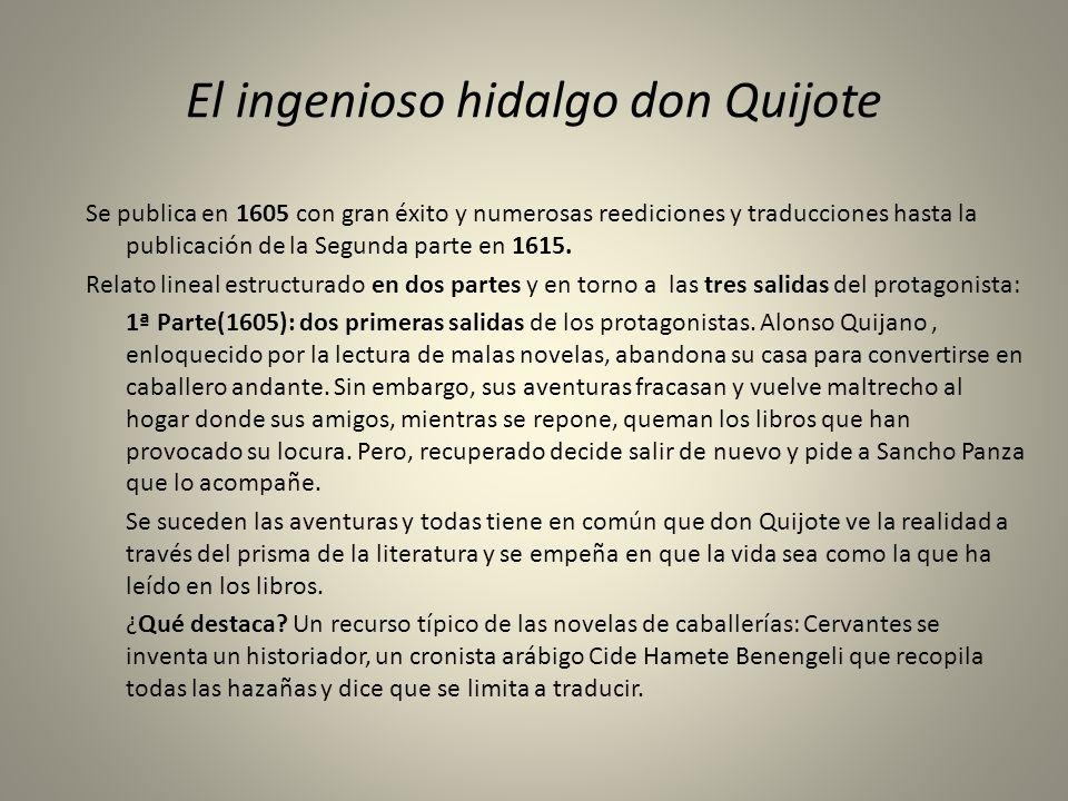 El ingenioso hidalgo don Quijote