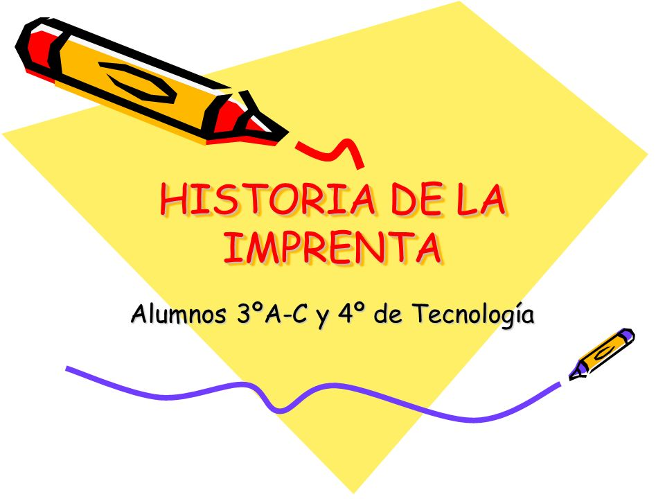 HISTORIA DE LA IMPRENTA - ppt video online descargar