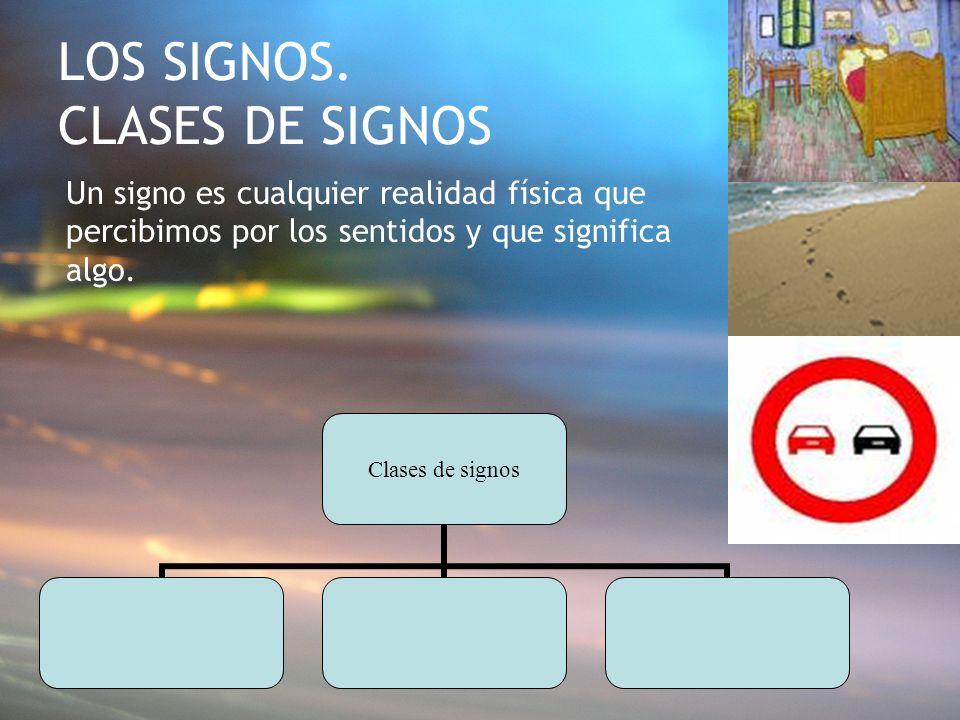 LOS SIGNOS. CLASES DE SIGNOS