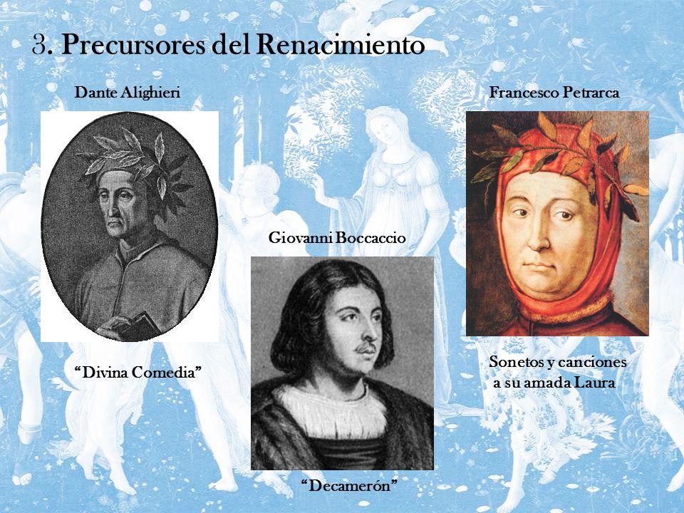 3. Precursores del Renacimiento