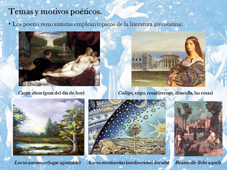 Temas y motivos poéticos.