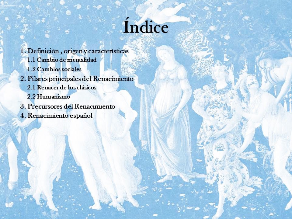 Índice 1. Definición , origen y características