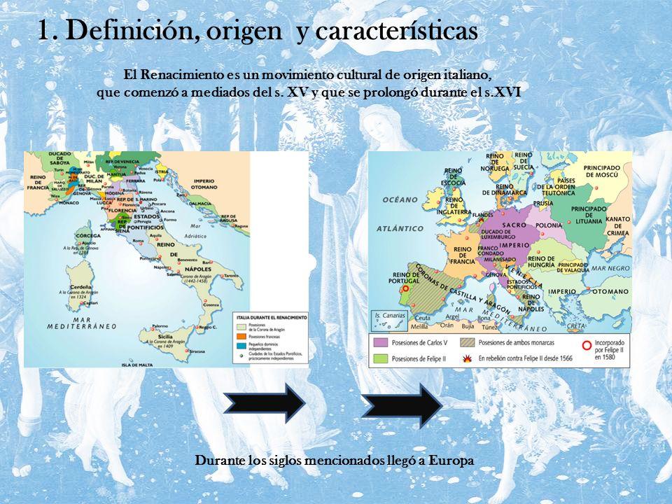 1. Definición, origen y características