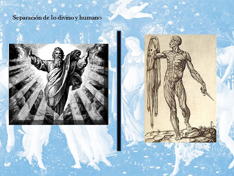 Separación de lo divino y humano