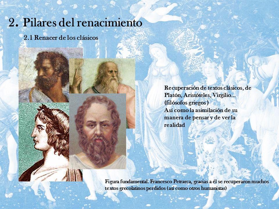 2. Pilares del renacimiento