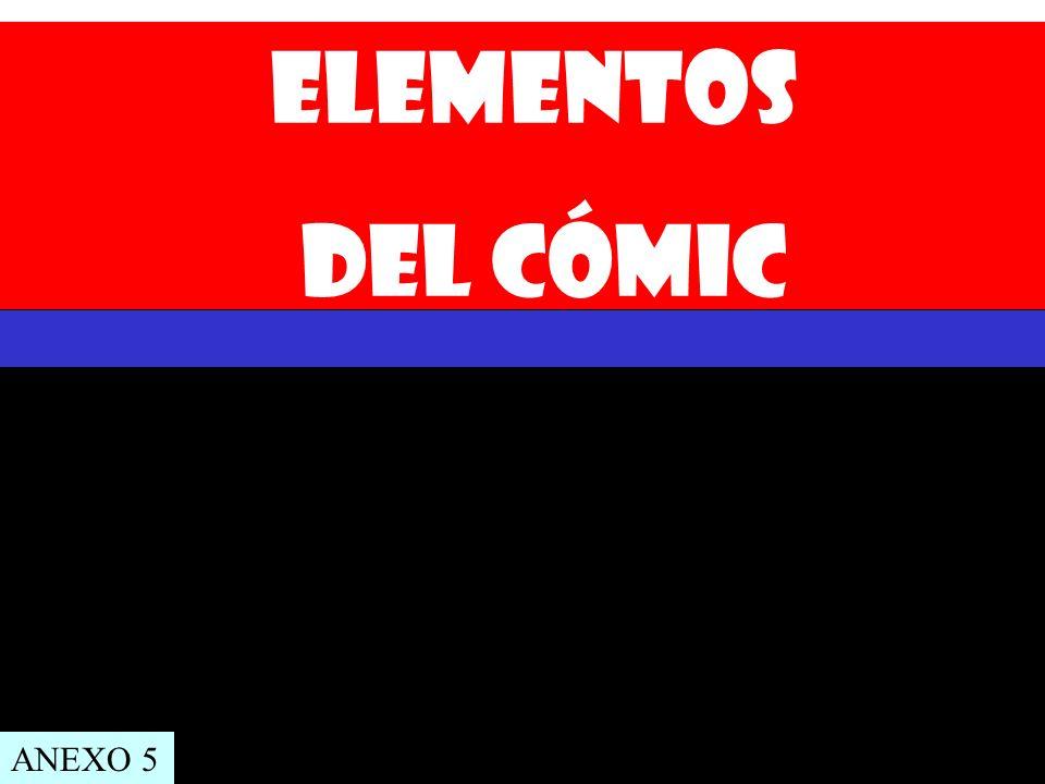 Elementos del cómic ANEXO 5