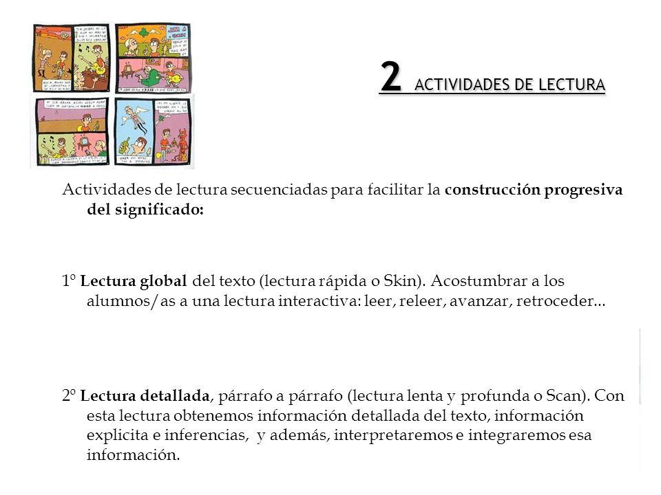 2 ACTIVIDADES DE LECTURA