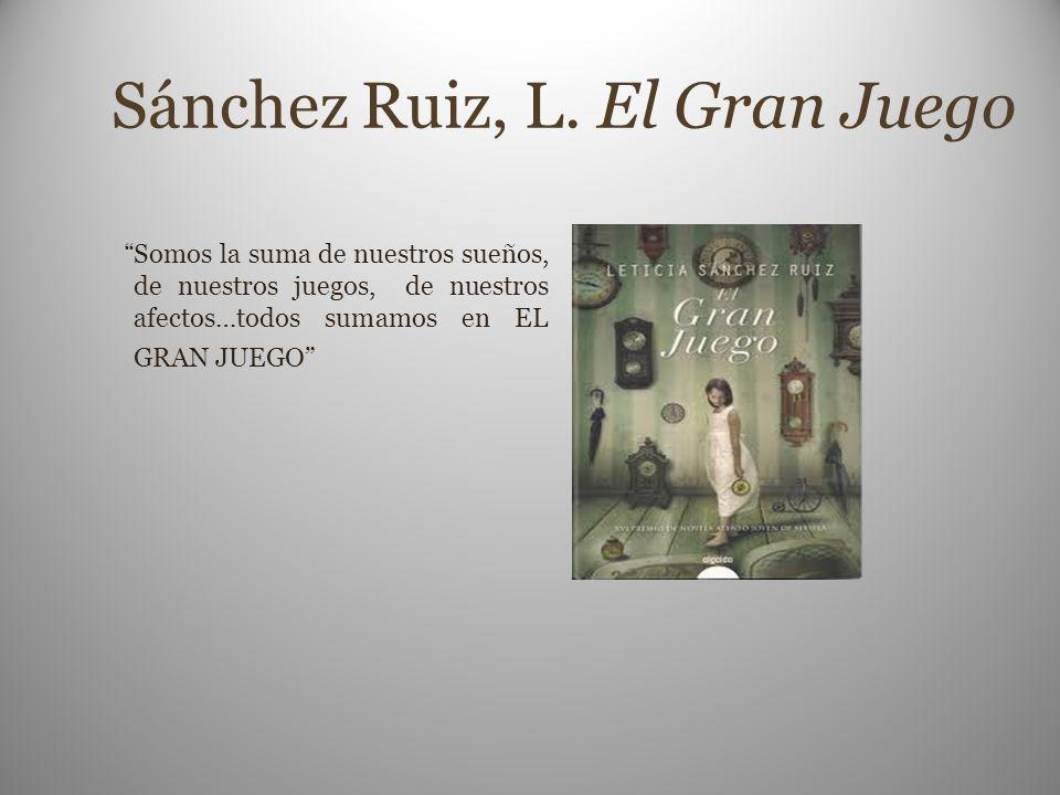 Sánchez Ruiz, L. El Gran Juego