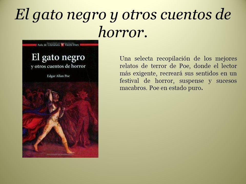 El gato negro y otros cuentos de horror.