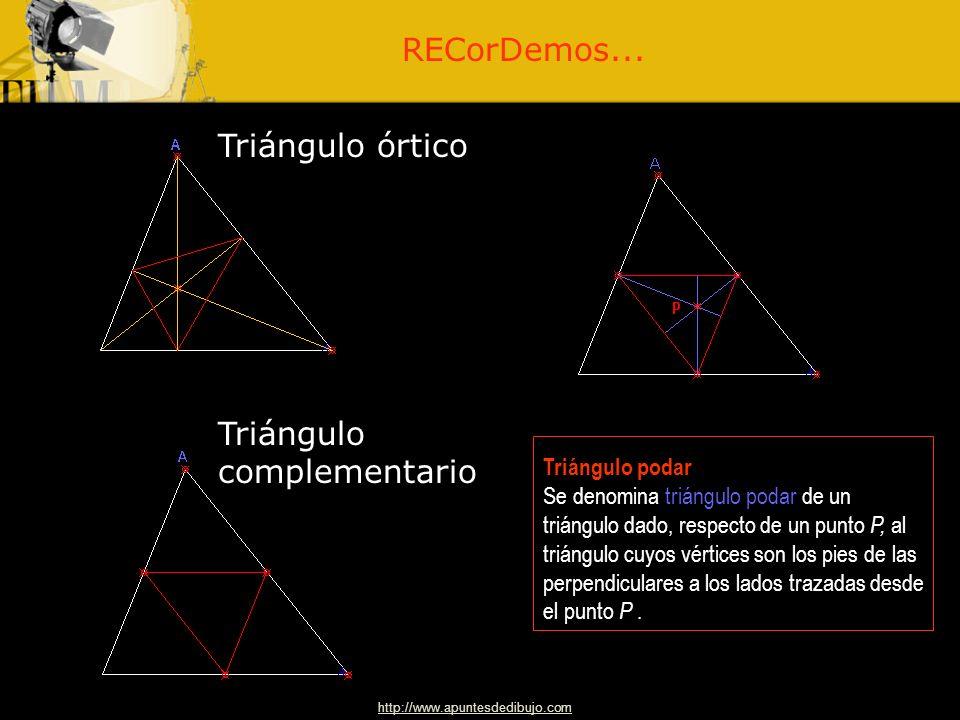 Triángulo complementario