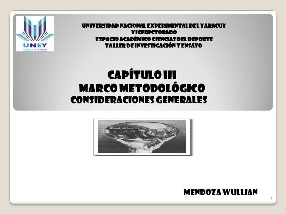 CAPÍTULO III MARCO METODOLÓGICO