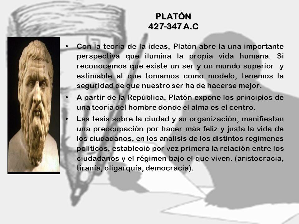 PLATÓN 427-347 A.C