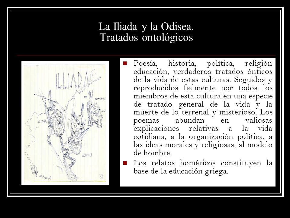 La Iliada y la Odisea. Tratados ontológicos