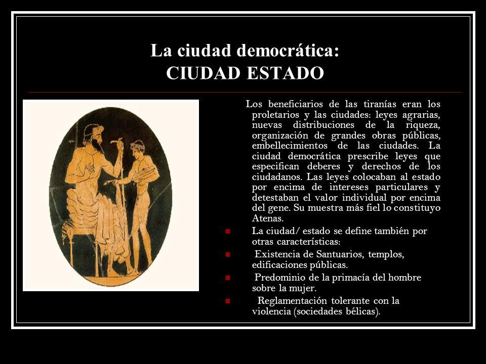 La ciudad democrática: CIUDAD ESTADO