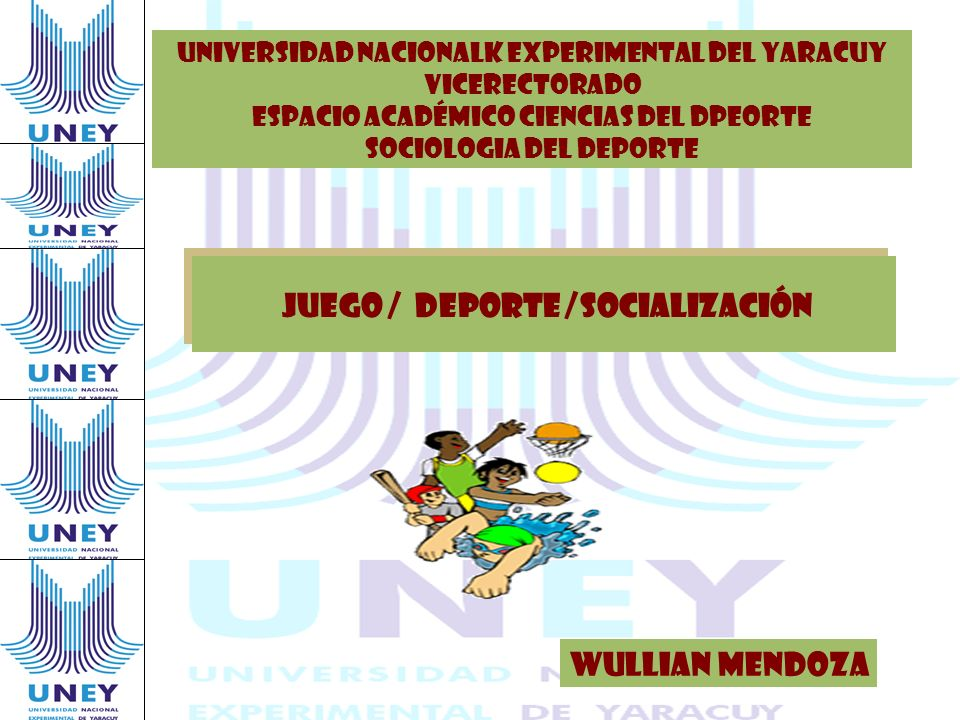 JUEGO / DEPORTE /SOCIALIZACIÓN